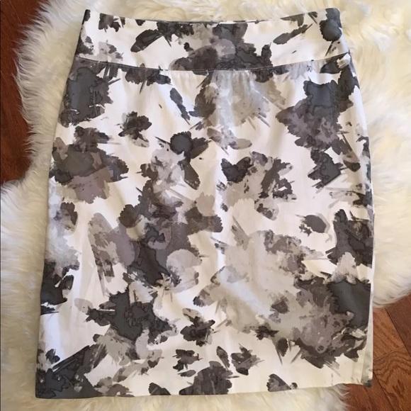 86f1b8d623 Alfani Skirts | Petite Floral Straight Pencil Skirt Fitted | Poshmark